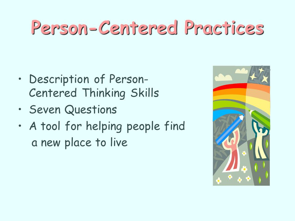 Person-Centered Practices