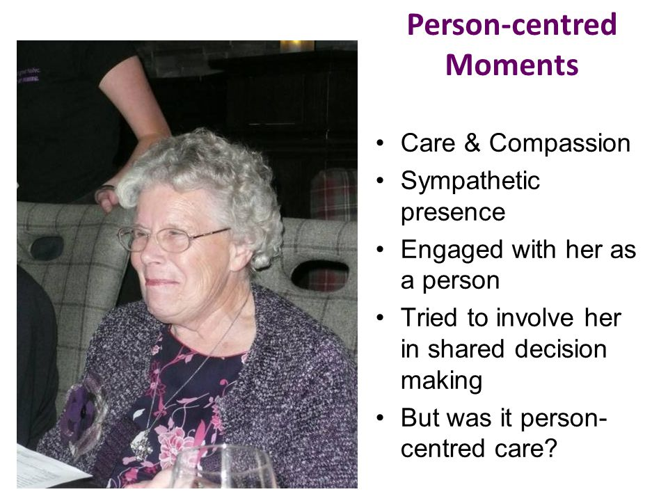 Person-centred Moments