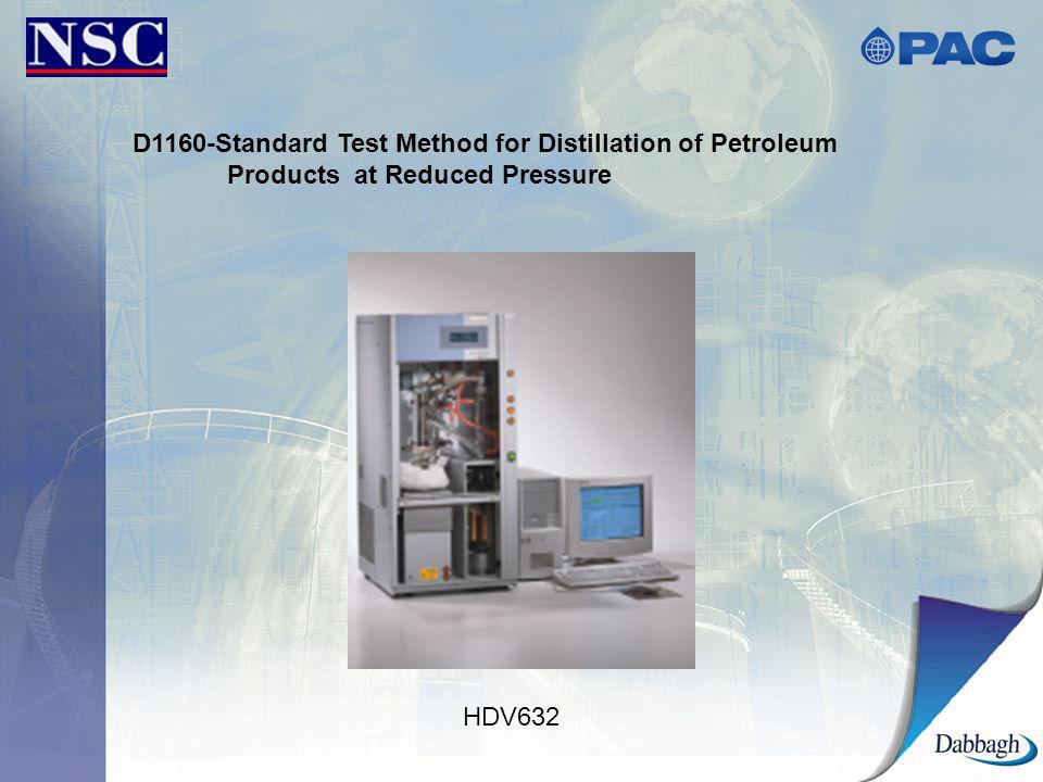 D1160-Standard Test Method for Distillation of Petroleum