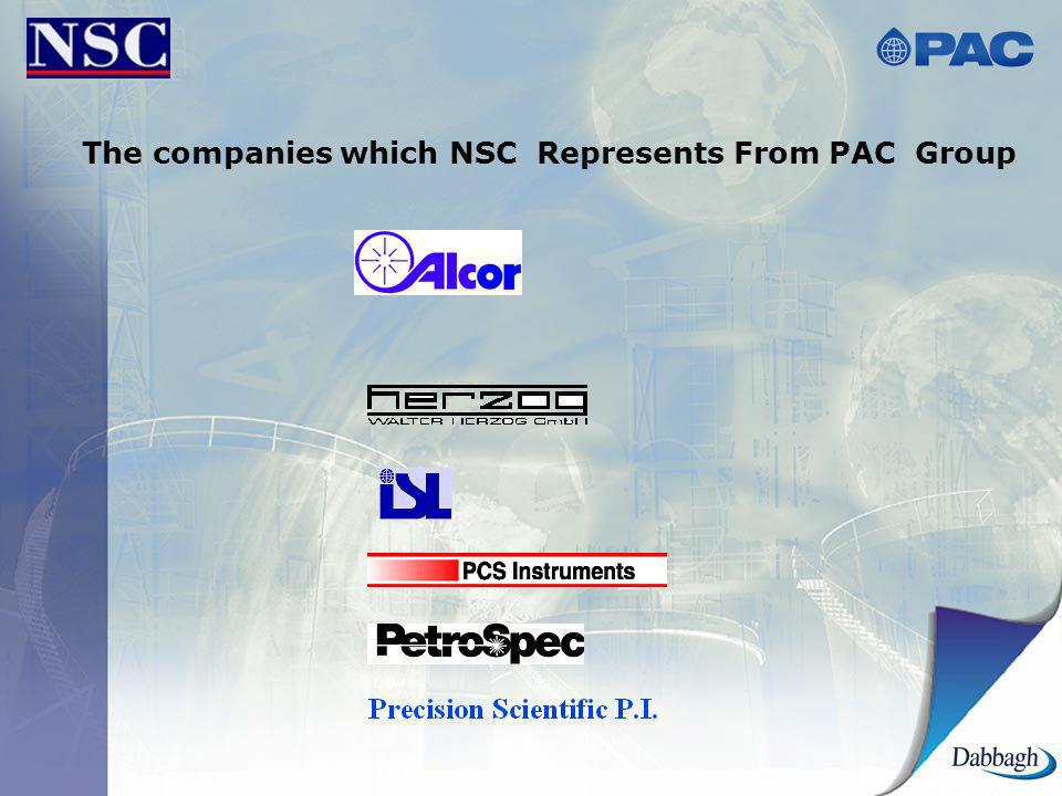 The companies which NSC Represents From PAC Group