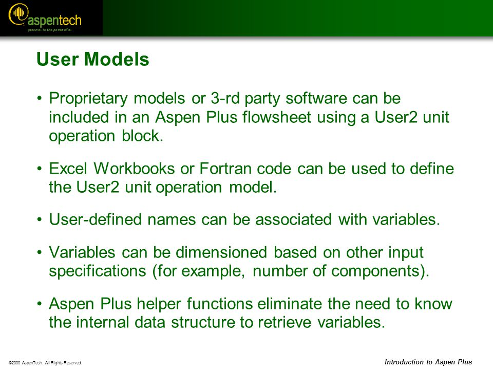 Introduction to Flowsheet Simulation - ppt download