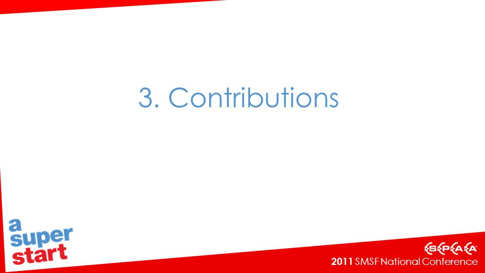 3. Contributions