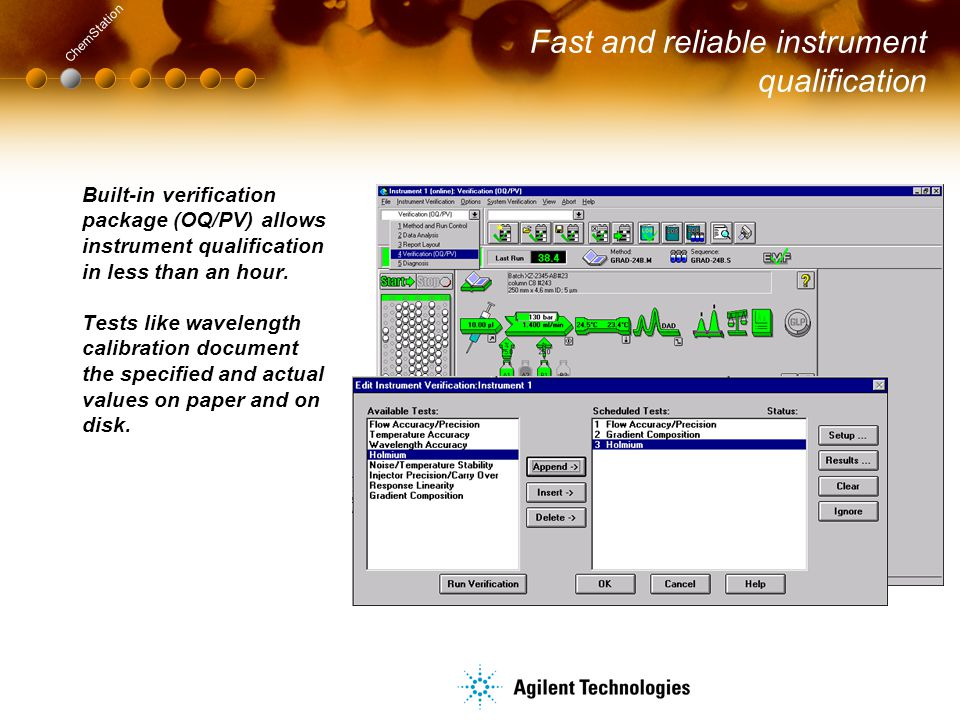 Agilent ChemStation Plus - ppt download