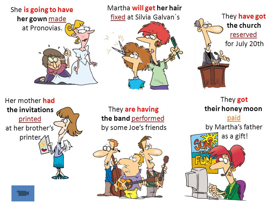 Martha will get her hair fixed at Silvia Galvan`s They have got