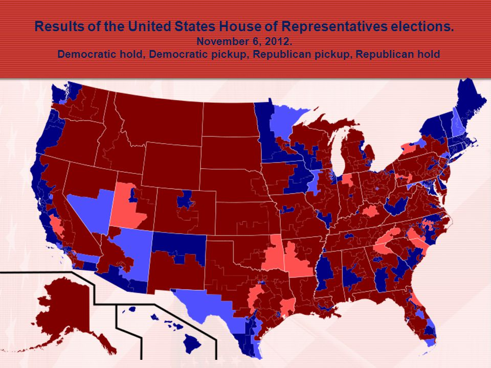 Results of the United States House of Representatives elections
