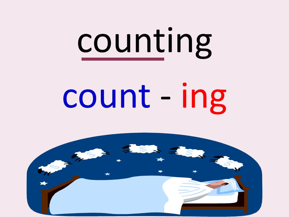 counting count - ing