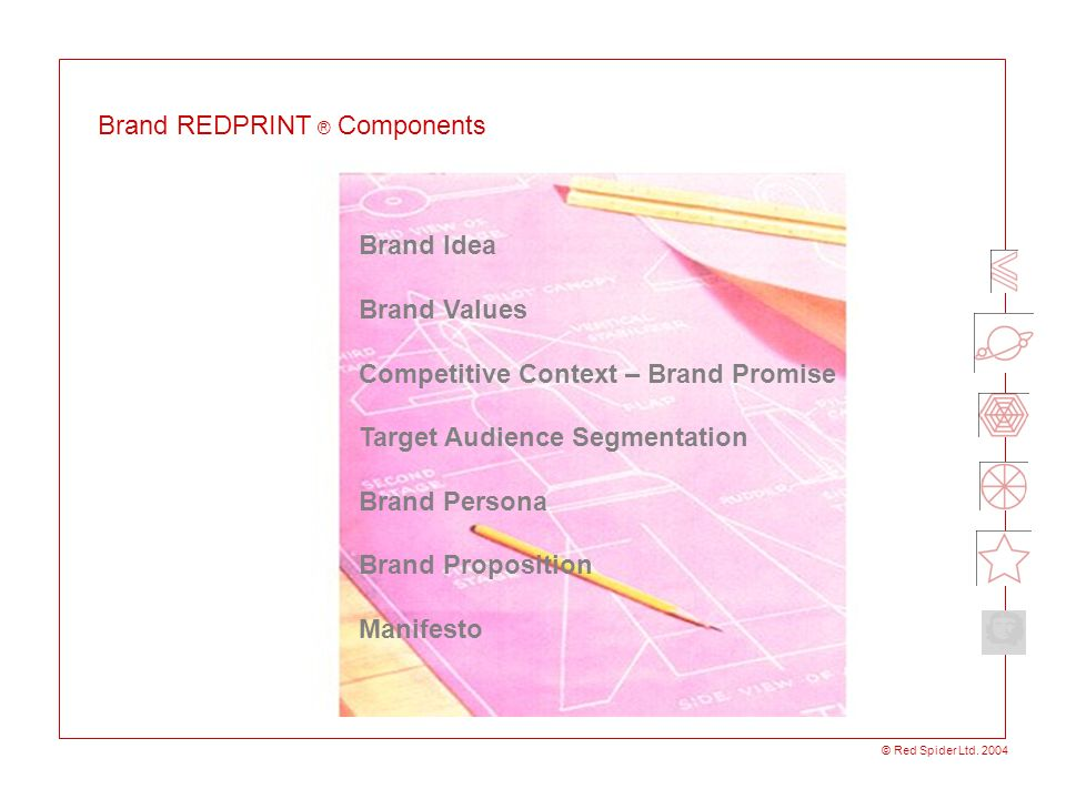 Brand REDPRINT ® Components