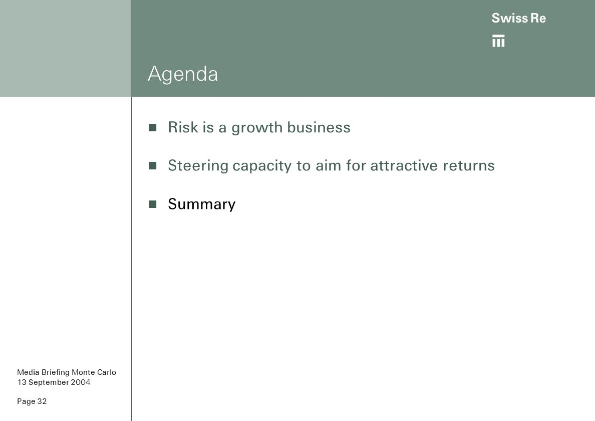 Agenda Risk is a growth business