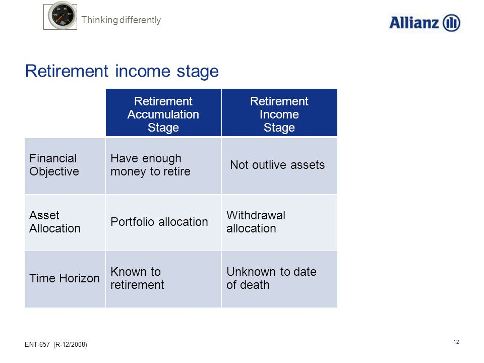 Retirement income stage