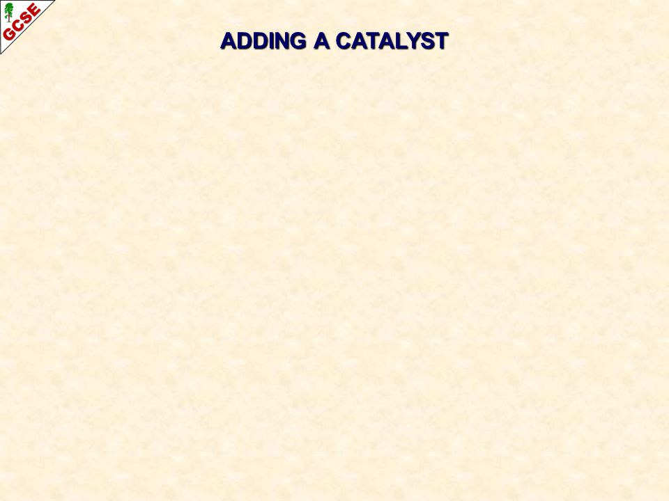 ADDING A CATALYST