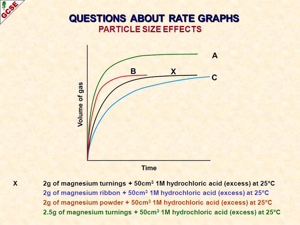 QUESTIONS ABOUT RATE GRAPHS