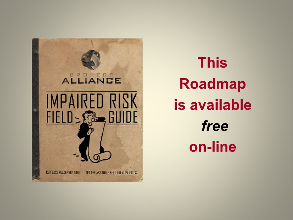This Roadmap is available free on-line