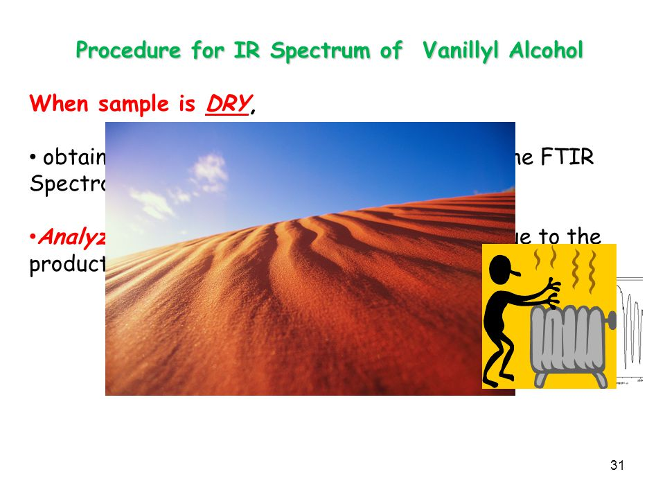 Procedure for IR Spectrum of Vanillyl Alcohol