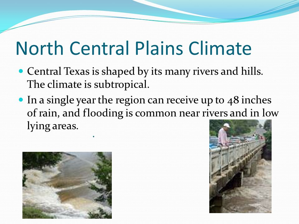 North Central Plains Climate