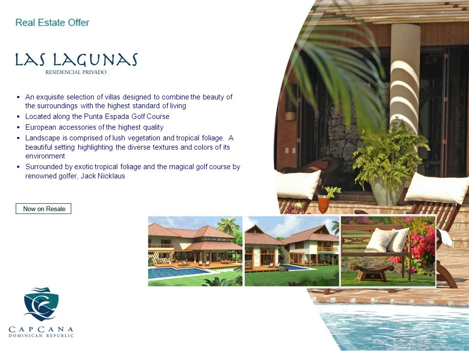 An exquisite selection of villas designed to combine the beauty of the surroundings with the highest standard of living