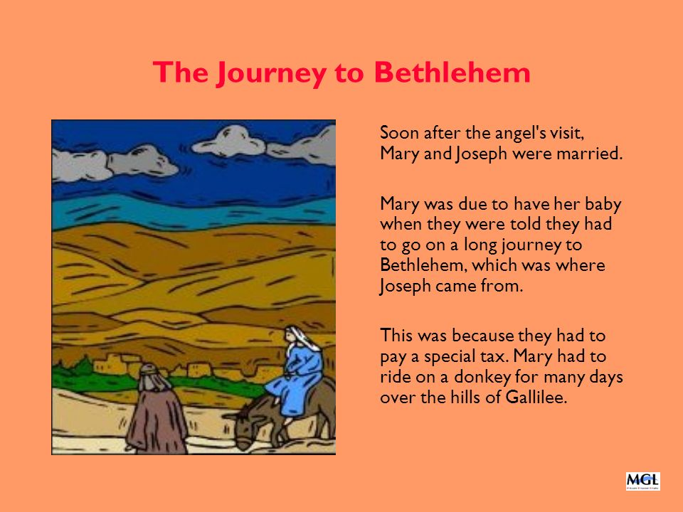 The Journey to Bethlehem
