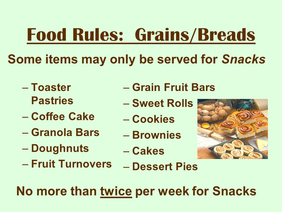Food Rules: Grains/Breads