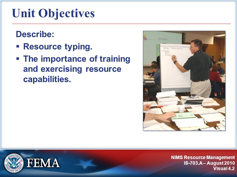 Unit Objectives Describe: Resource typing.
