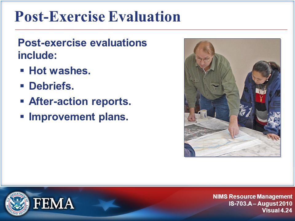 Post-Exercise Evaluation