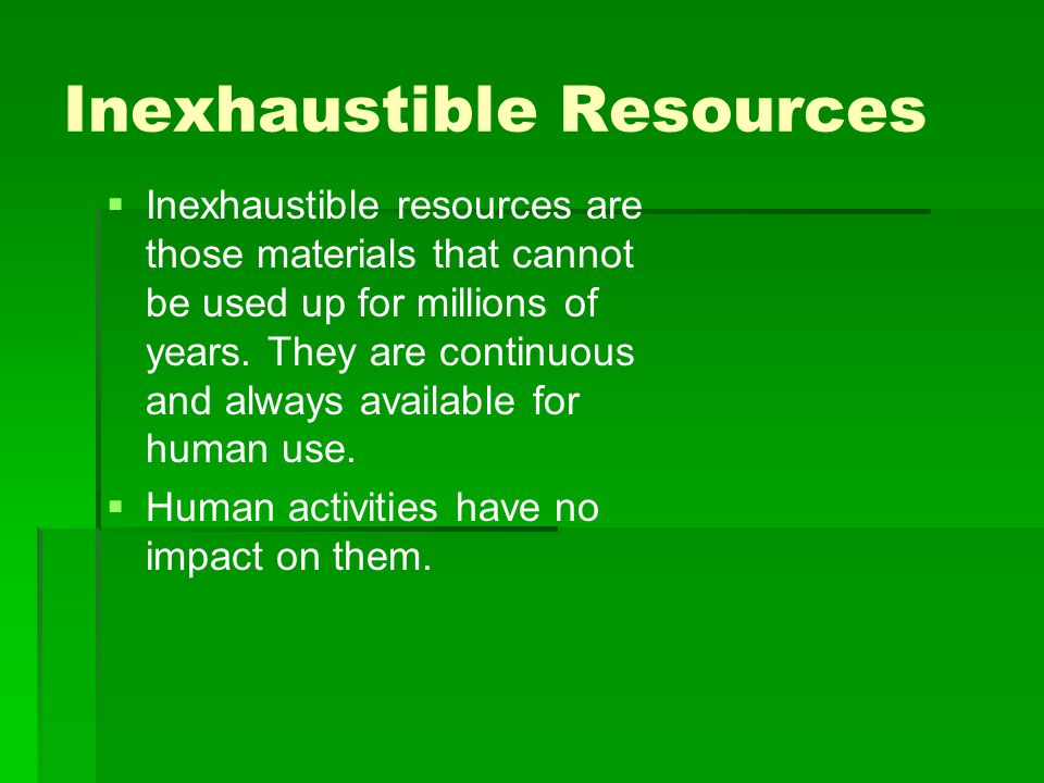 is oil inexhaustible