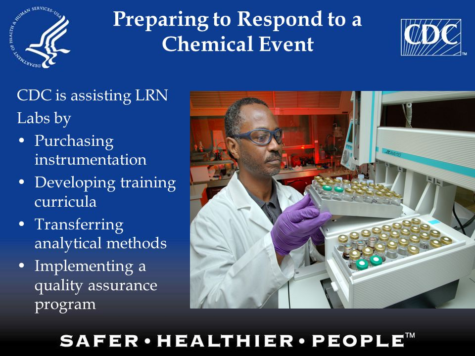 Preparing to Respond to a Chemical Event