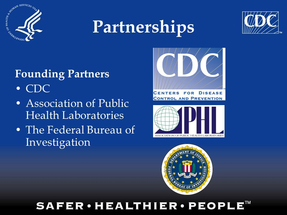 Partnerships Founding Partners CDC