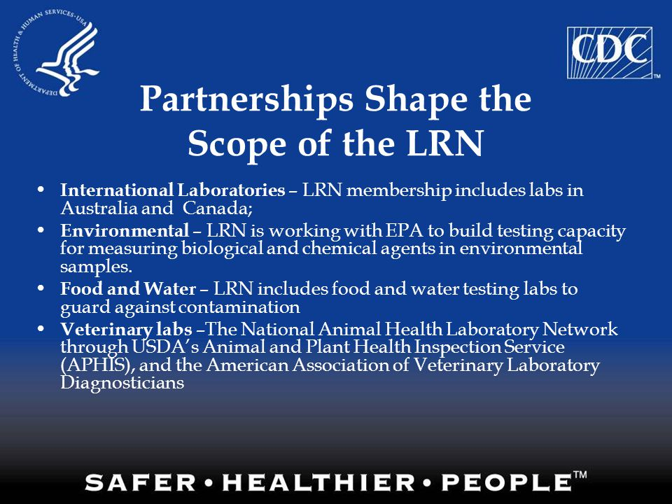 Partnerships Shape the Scope of the LRN