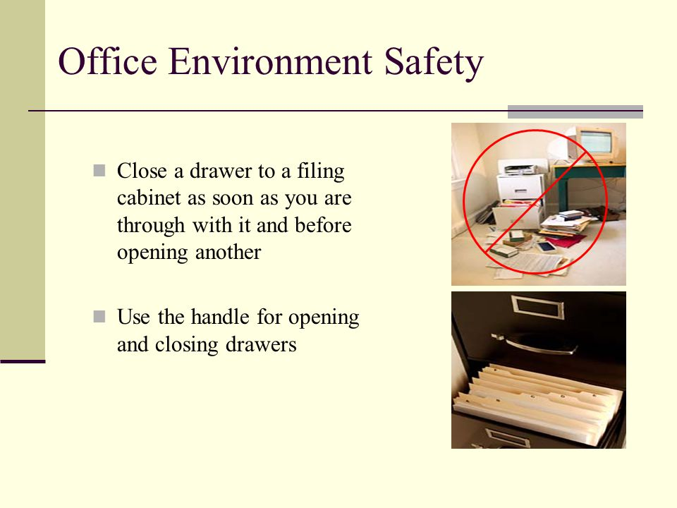 General and Office Safety - ppt video online download