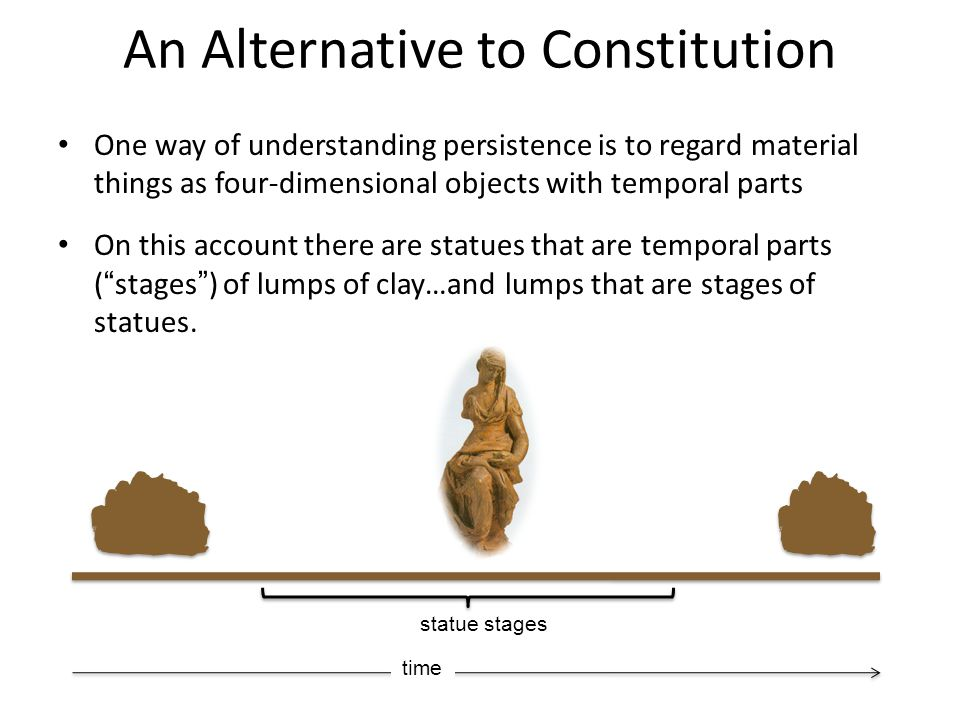 An Alternative to Constitution