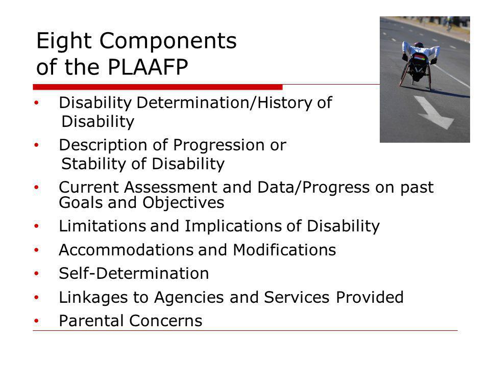 Eight Components of the PLAAFP