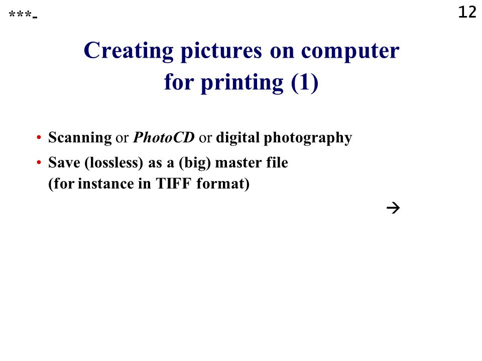 Creating pictures on computer for printing (1)