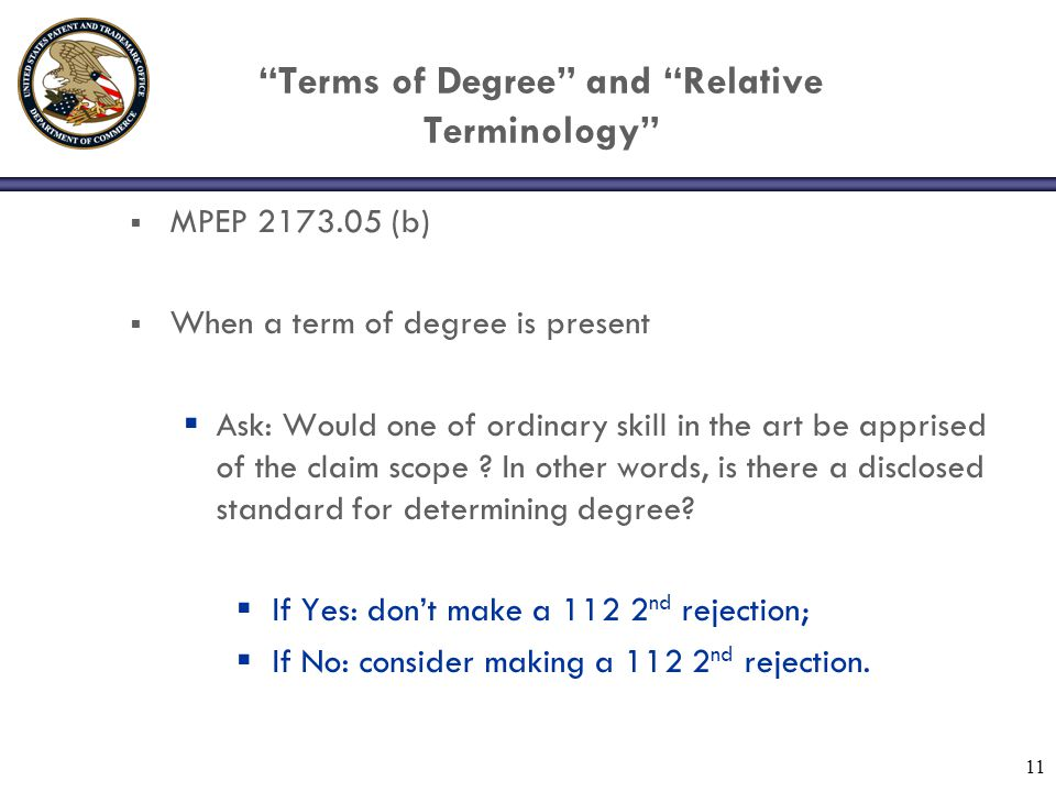 Terms of Degree and Relative Terminology