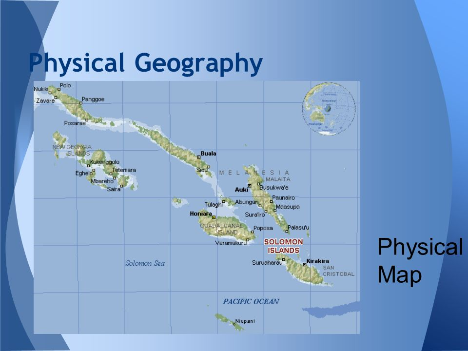 Physical Geography Physical Map