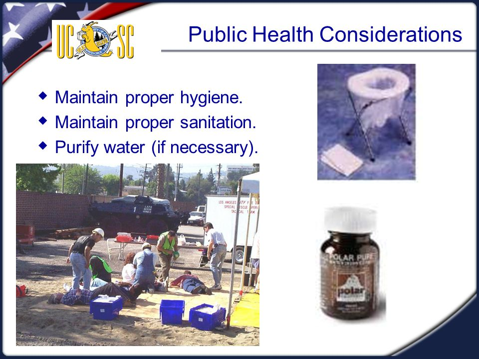Public Health Considerations