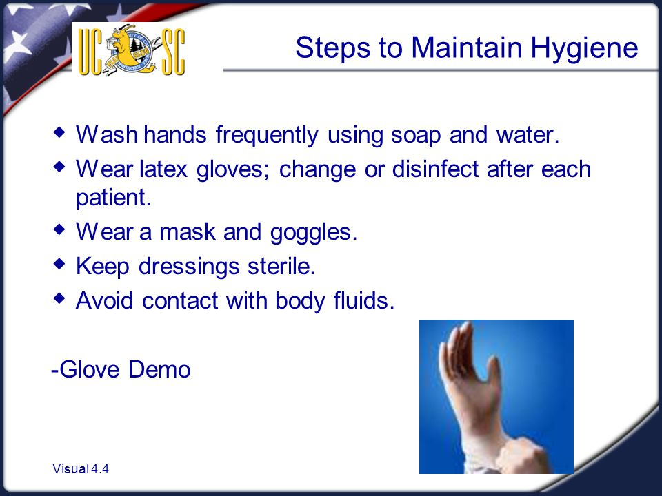 Steps to Maintain Hygiene