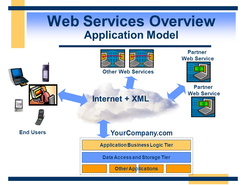 Web Services Overview Application Model