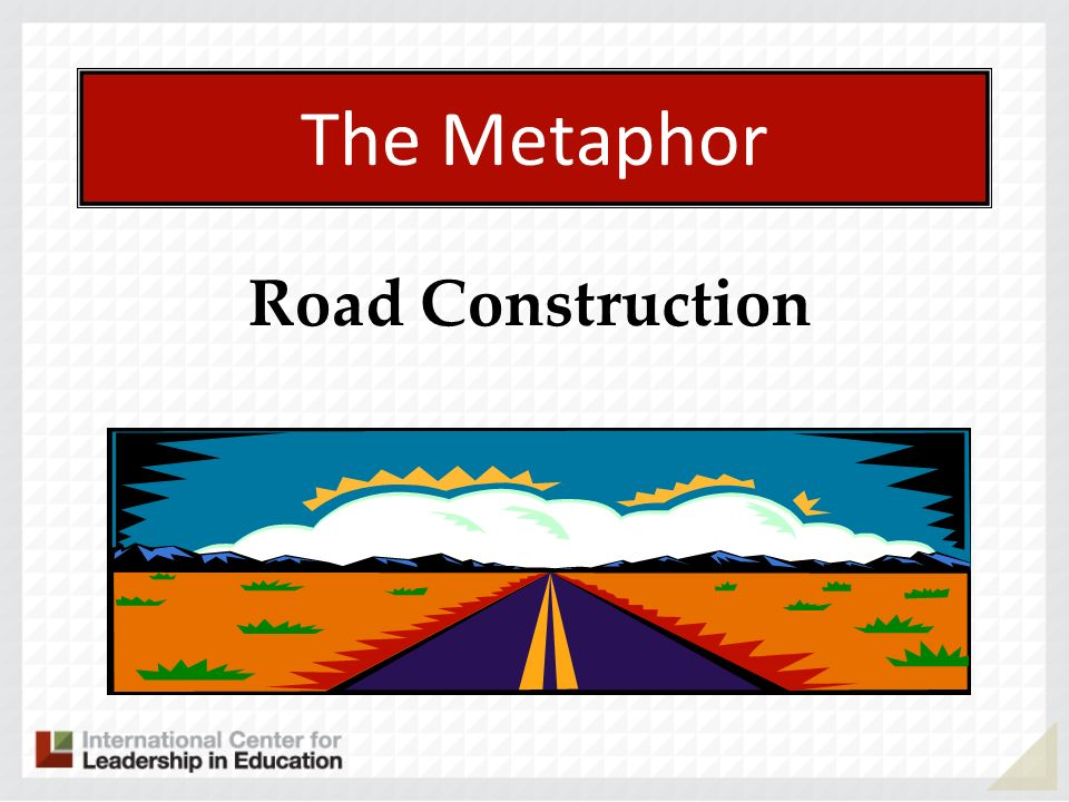 The Metaphor Road Construction