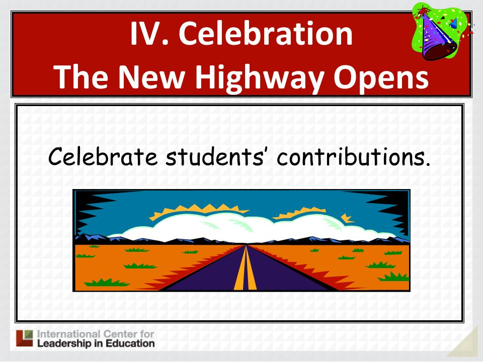 IV. Celebration The New Highway Opens