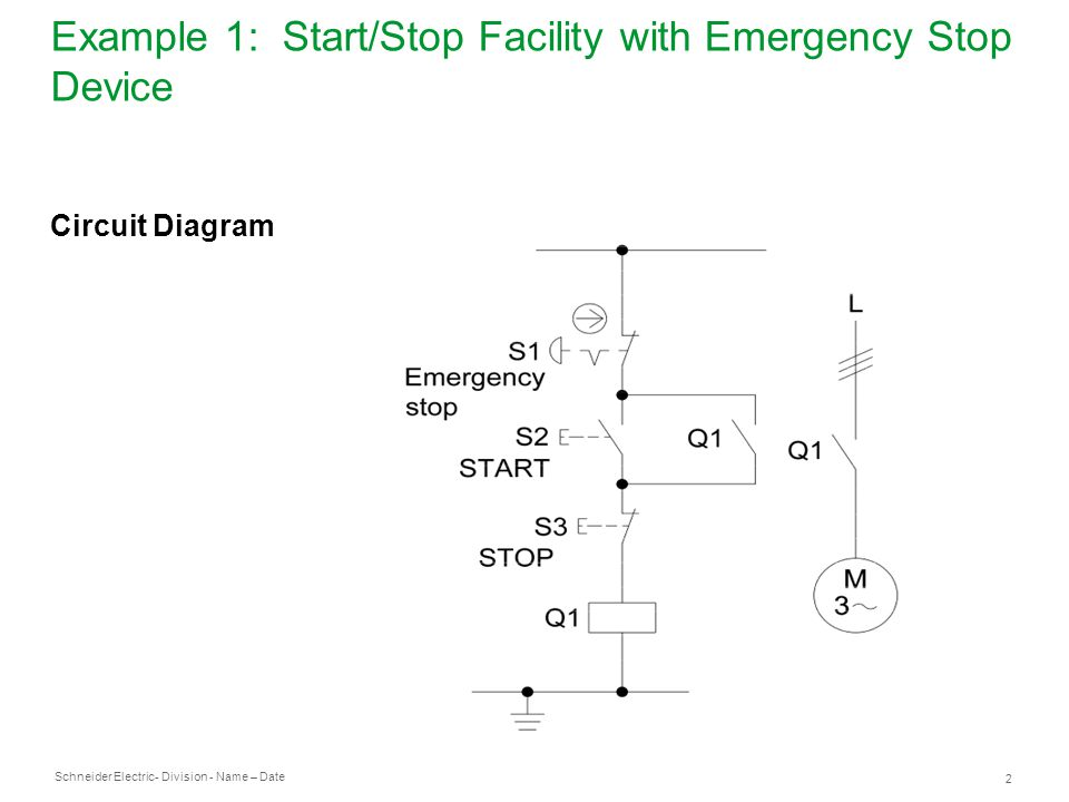 E Stop Circuit Diagram Schematics Wiring Diagrams
