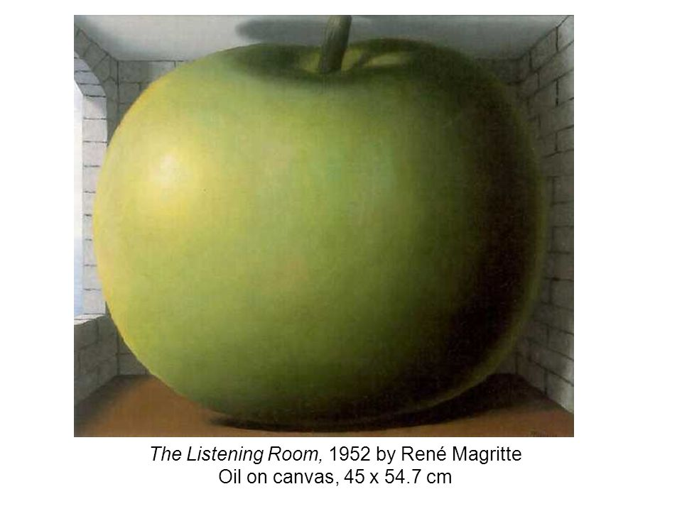 The Listening Room, 1952 by René Magritte