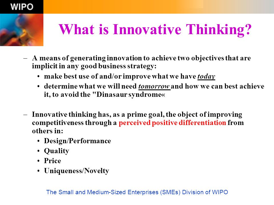 What is Innovative Thinking