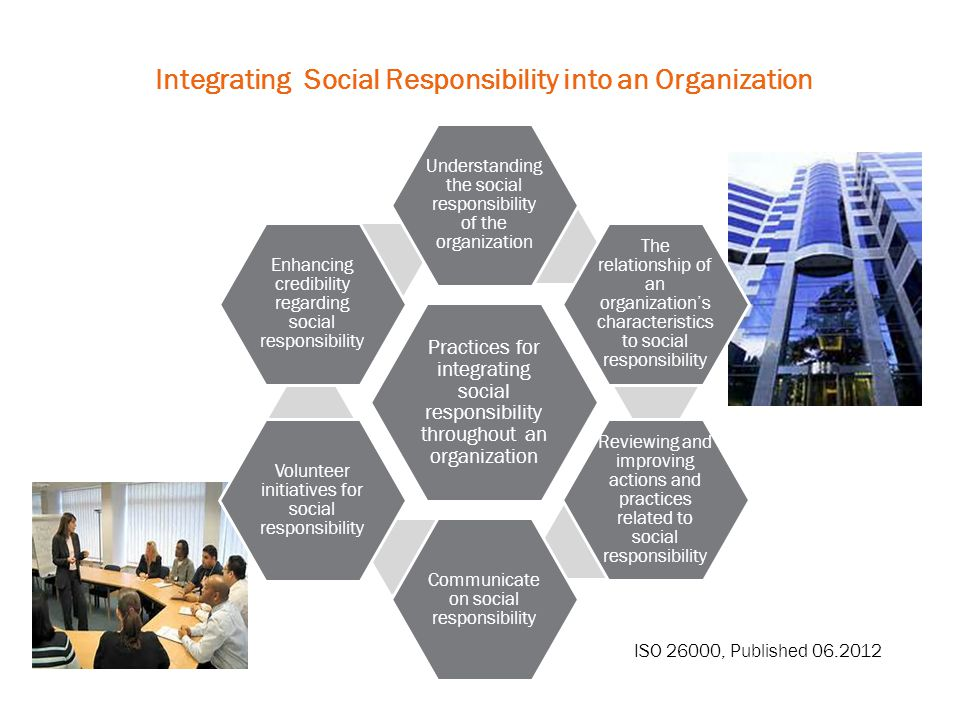 Integrating Social Responsibility into an Organization