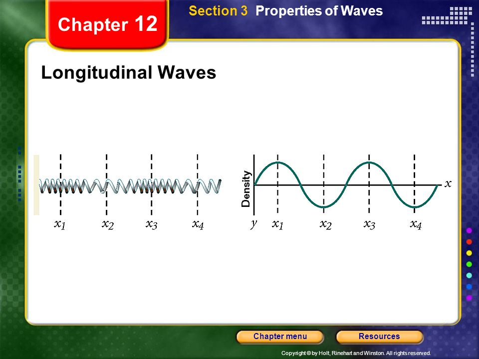 Section 3 Properties of Waves