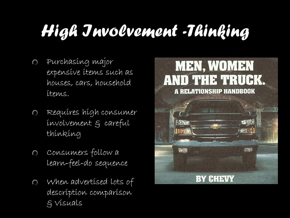 High Involvement -Thinking