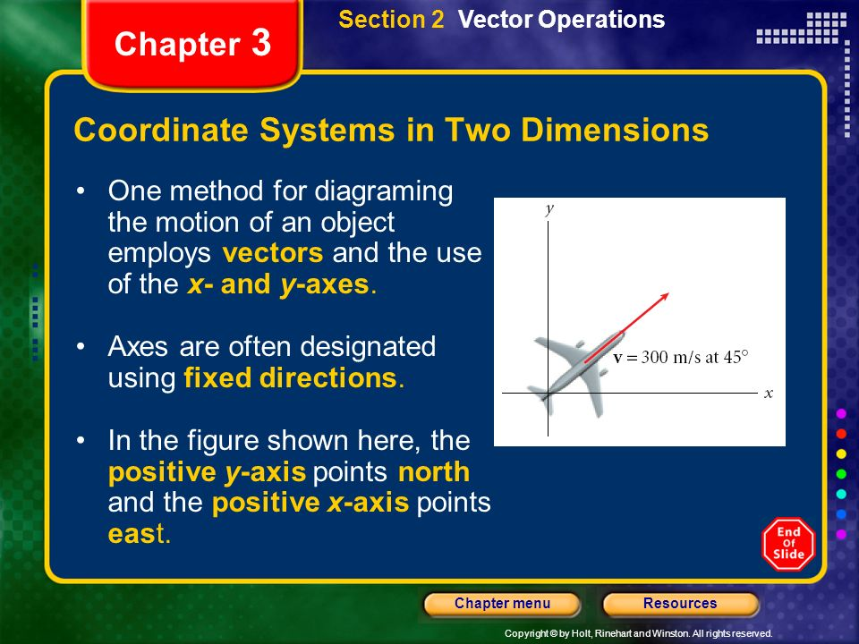 Coordinate Systems in Two Dimensions