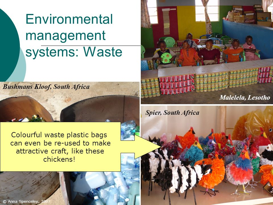 Environmental management systems: Waste