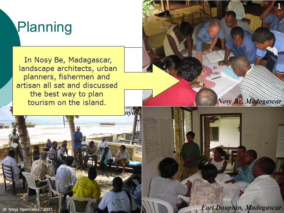 Planning 1 In Nosy Be, Madagascar, landscape architects, urban