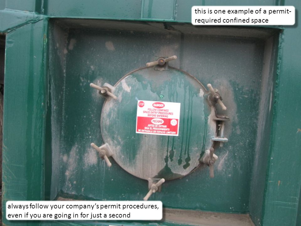 this is one example of a permit-required confined space