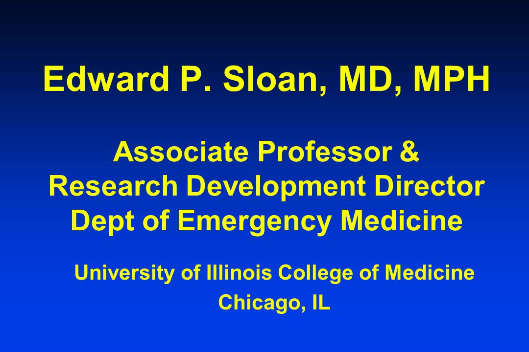 University of Illinois College of Medicine Chicago, IL