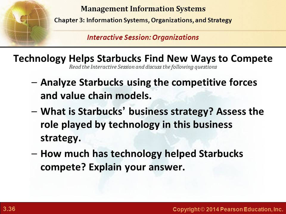 Technology Helps Starbucks Find New Ways to Compete